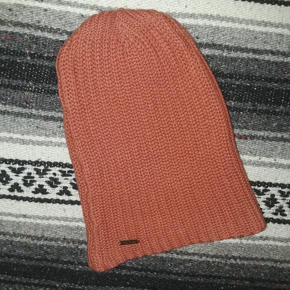 Free People | Unisex Orange Winter Hat/Beanie
